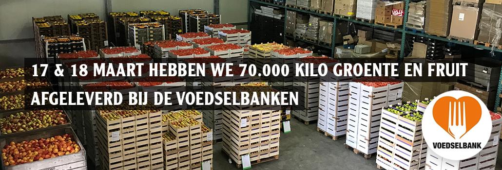 Schoolfruit Den Daas Donatie Voedselbank